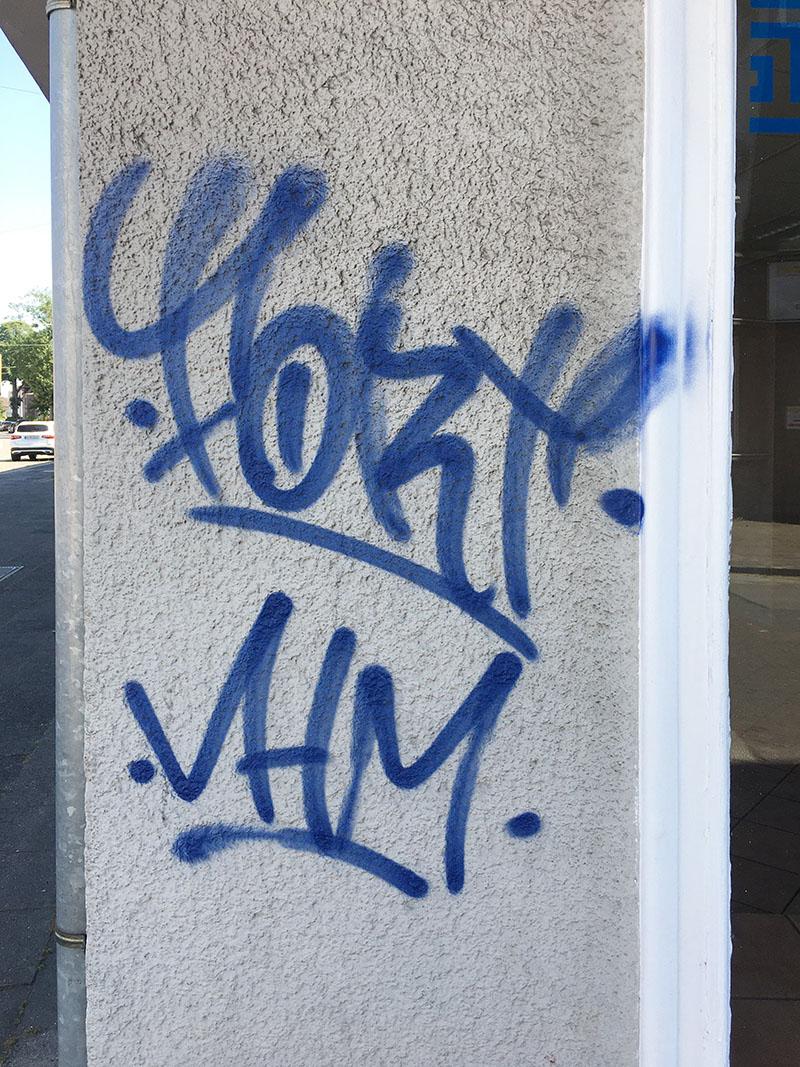 Graffiti Entfernung in Bottrop