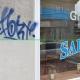 Graffiti Bottrop vorher-nachher