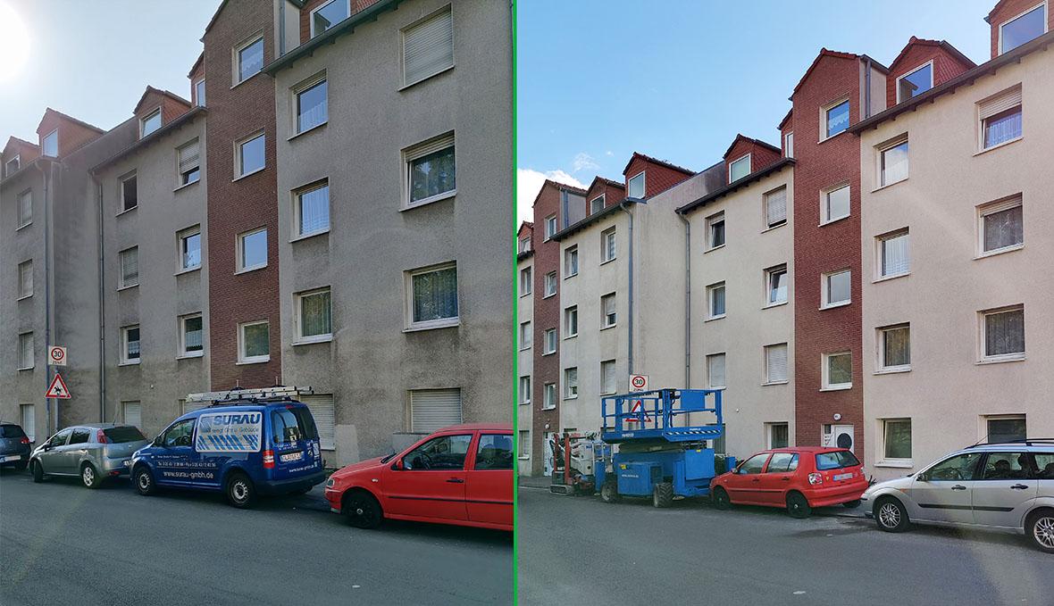 Fassadenreinigung in Essen