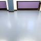 Fußboden Gesamtschule mit Farbchips